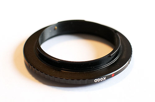 Reversing ring (lens mount)