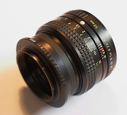 Reversing Ring on Manual Lens